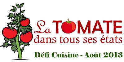 """Crumble de tomates pour """"Défi recettes d'août"""""""