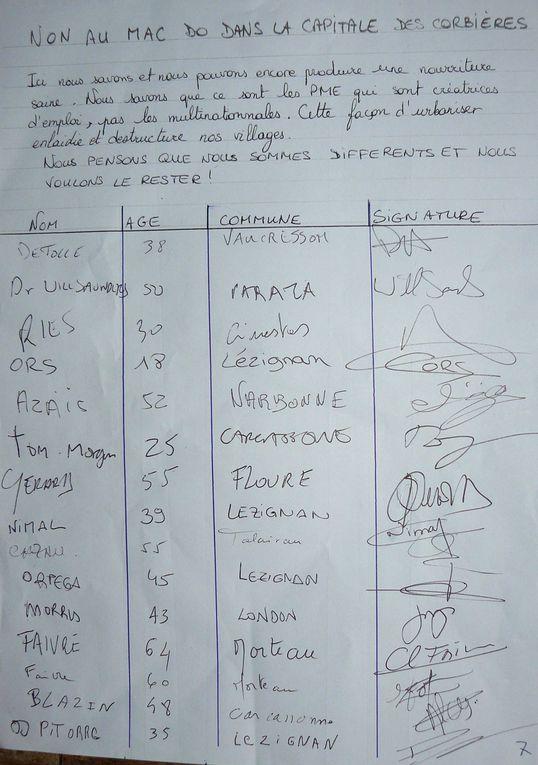 Album - Petition-manuscrite