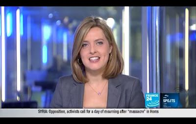 2012 03 13 @21H28 - LAURA BAINES, FRANCE 24, LIVE FROM PARIS