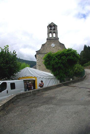 Les Vebrois, les habitants d'un village si propice au Bien Etre et au Bien Vivre sut répondre present  a cette fete organisee par la Municipalite Le Pèlerin