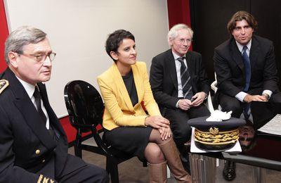 Najat Vallaud-Belkacem NVB  le 20 novembre 2012