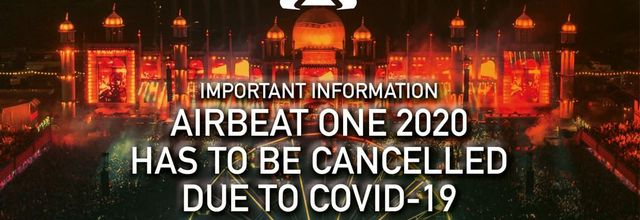 ⚠ Airbeat One Festival 2020, Germany, cancelled due to coronavirus ⚠