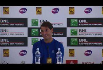 Vidéos - Roma - Extraits du match vs Shapovalov et Conférence de presse