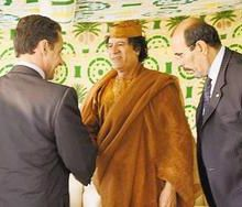 Sarkozy humilie la France