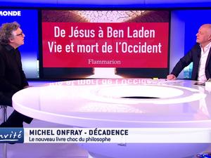 Michel Onfray - L'invité (TV5 Monde) - 18.01.2017 - Décadence