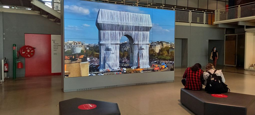 En direct live du centre Pompidou le 17 septembre 2021