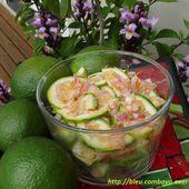 Rougail citrons verts - Ma Cuisine Bleu Combava