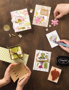 Calendrier des Ateliers démonstrations STAMPIN UP