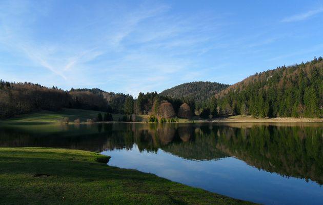 Balade dans le Haut Bugey - Le lac Genin