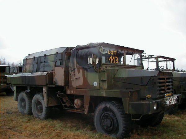 Les Berliet utilisés par l'Armée