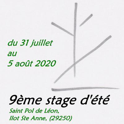 Stage d'été #2020