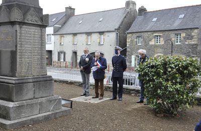 Irvillac. La Commémoration du 8-Mai-1945 une cérémonie réduite, mais importante en symbole....
