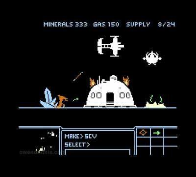 Starcraft 8-bit.