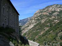 Splendides vues sur la vallée, sur Bard et sur la ville de Hône