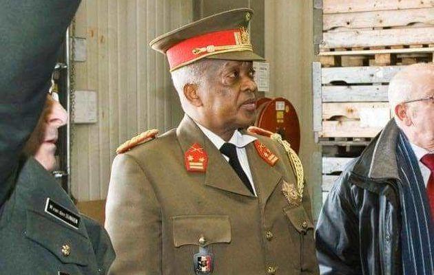 Décès et enterrement en Belgique de Général Major Bijonya Bernard