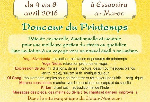 Stage Yoga et expression de soi à Essaouira