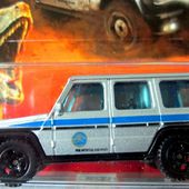MERCEDES G 550 2014 JURASSIC WORLD MATCHBOX 1/64. - car-collector.net