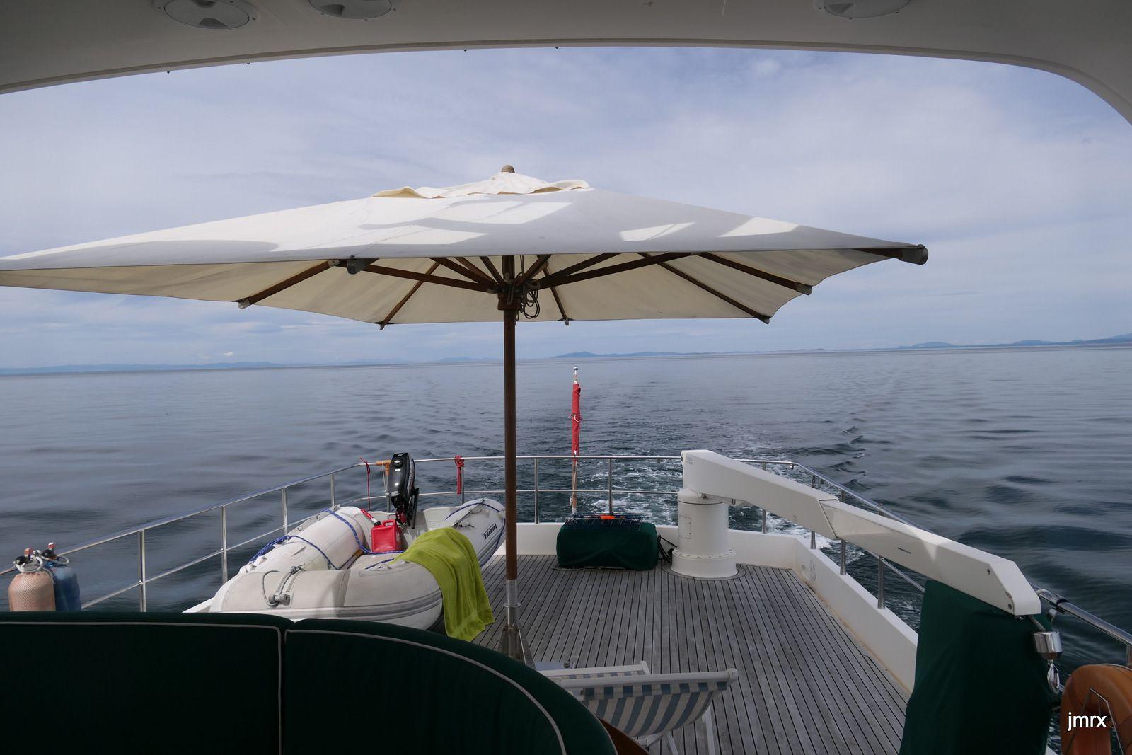 Encore une dure traversée: le redoutable Détroit de Juan de Fuca!