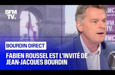 Fabien Roussel chez Bourdin