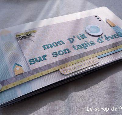 """Mini-album """"Mon p'tit oiseau sur son tapis d'éveil"""""""