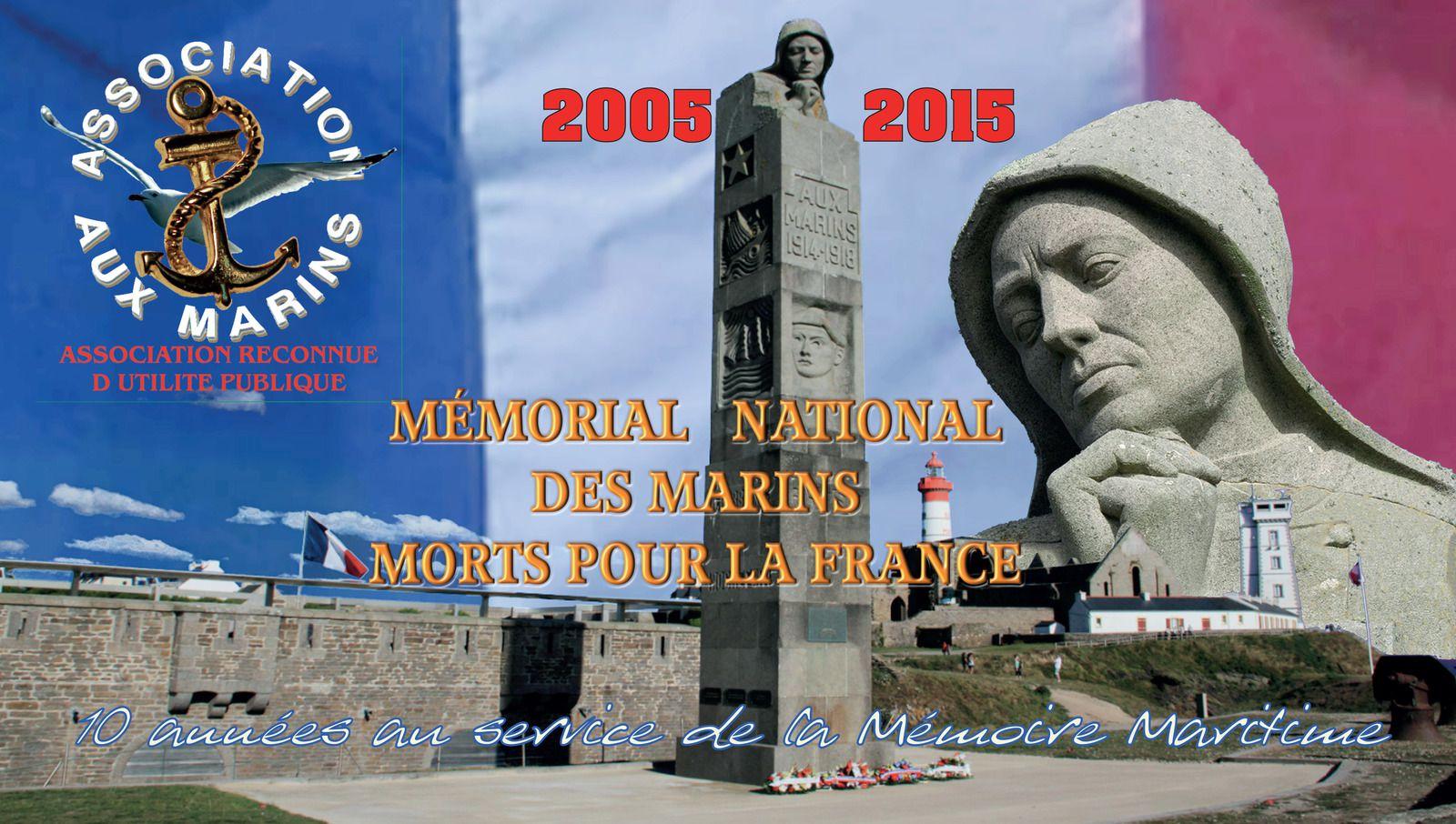 Aux Marins - rétrospective - Mémorial national des marins morts pour la France - cénotaphe