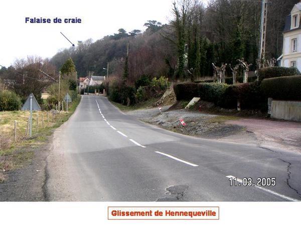 Quelques photos de la visite sur les glissements de terrain en Normandie (Villerville). Toute utilisation des documents doit faire l'objet d'une autorisation auprès de B. Cabanis