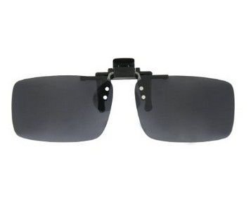 Easy Clip on Flip up Sunglasses with UV400 Polycarbonate Polarized Lenses 60mm/56mm in Grey/Yellow/Brown/Green
