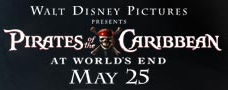 PIRATES OF THE CARRIBEAN 3rd