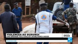 Violences au Burundi