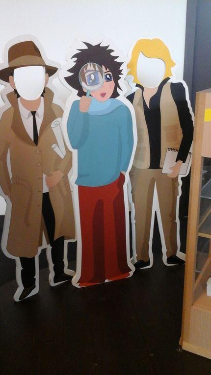 Vous pouvez voir cette exposition à la mediàtheque du Château.