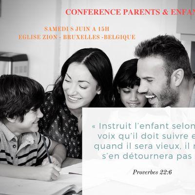 Conférence Parents-Enfants Belgique
