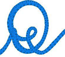 ABC ficelle: la lettre Q