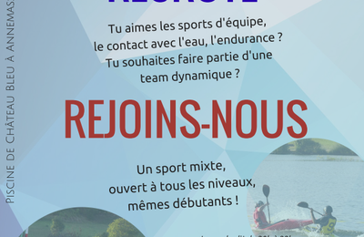 KAYAK POLO RECRUTE