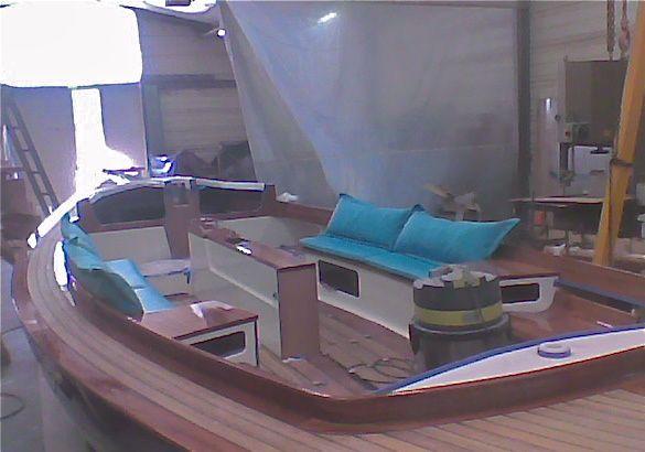 Coussins extérieurs de bateaux