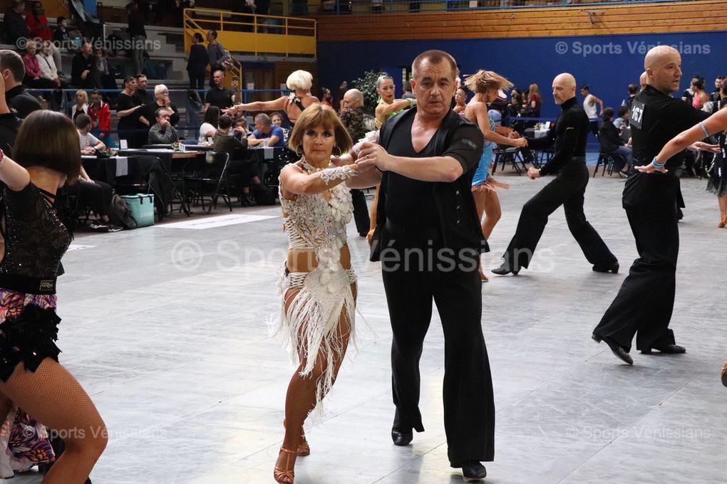 Deux-cent cinq couples ont participé ce samedi à l'étape vénissiane de la Coupe de France de danses latines et standards