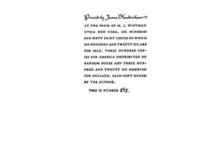 "George Moore ""Vaine Fortune"", trad. de J.-H. Rosny (1903)"