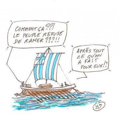Le peuple grec a bien le droit de décider de son avenir!