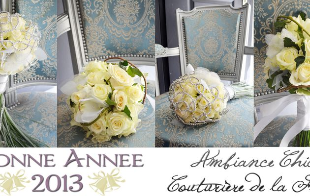 Bonne Année 2013   Fleuriste mariage Montpellier