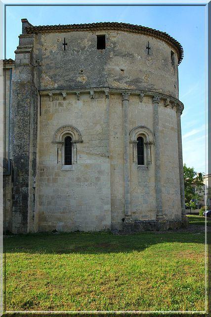 Diaporama église fortifiée de Bouliac