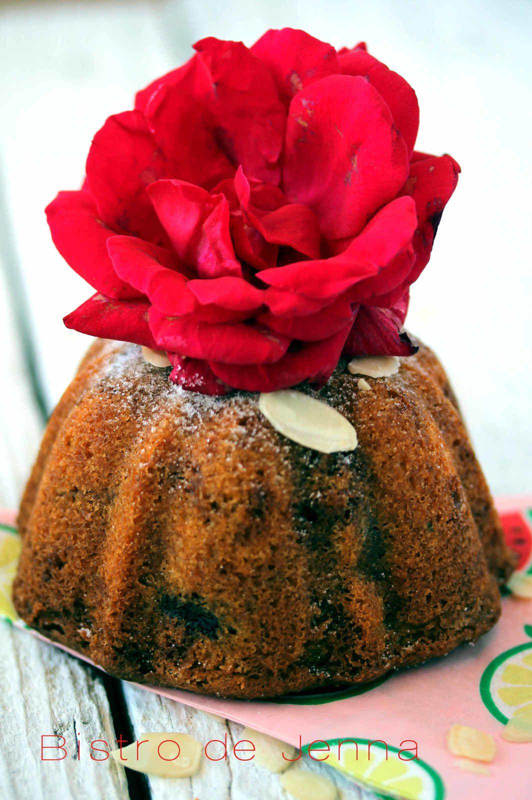 Mini bundt cake aux cerises