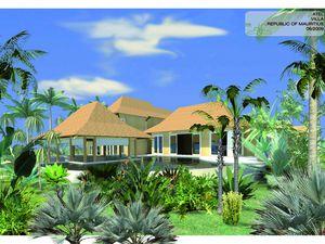 "Images 3d ""country club"" , villas jardins , marina et  golf"