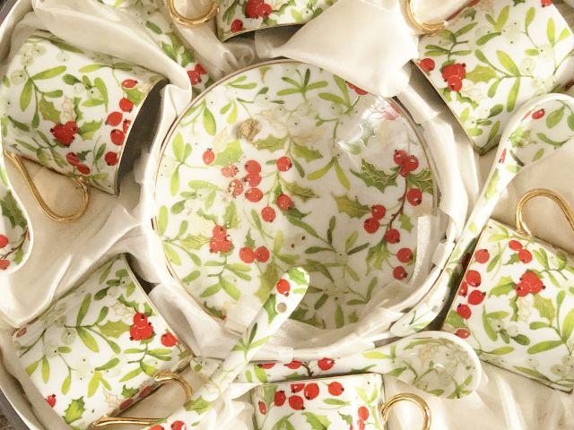 Tea time en porcelaine Saint Irieix