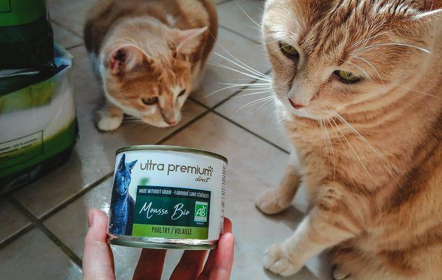 La mousse BIO volaille pour chat Ultra Premium Direct