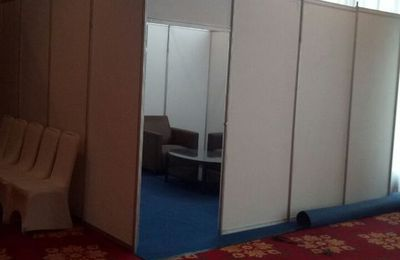 Sewa Fitting Room, Sewa Booth Pameran