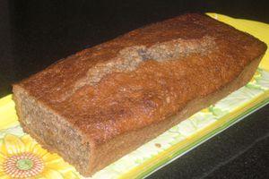 Gâteau à la peau de bananes