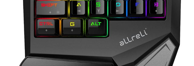 TEST: Clavier Gaming One Hand aLLreLi T9 Plus Pro