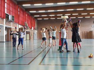 Centre Camus maternelle: éveil corporelle 02/08/2017