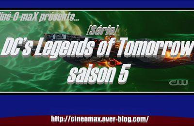 [Série] DC's Legends of Tomorrow saison 5