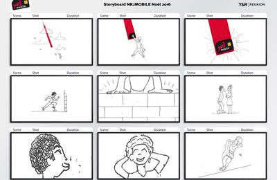 Storyboard TV - NRJ Mobile Noel 2016