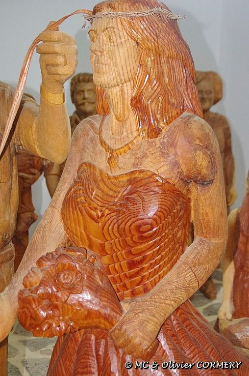 Musée du Bois Sculpté à Axos (Crète)
